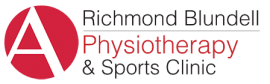Richmond Blundell Physiotherapy and Sports Injury Clinic Logo Black PNG